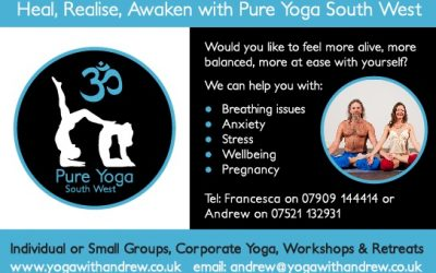 Welcome to Pure Yoga South West!
