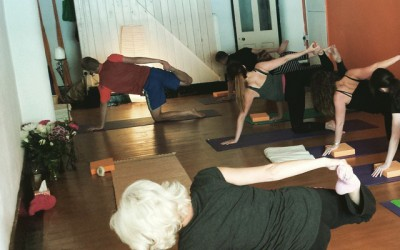 Yoga and overcoming addictions.