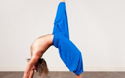 The benefits of yoga for men.